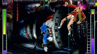Psychic Force 2 [PS1] - play as Keith Evans
