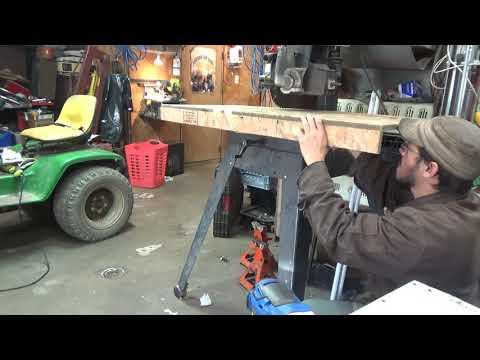 Radial Arm Saw Table Build