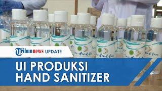 Tribun-video.com - fakultas farmasi universitas indonesia memproduksi hand sanitizer guna memenuhi permintaan di lingkungan ui, dan rumah sakit ui d...