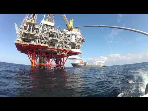 Fishing the Oil Rigs