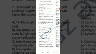 20 suallıq Azərbaycan dili və ədəbiyyat sınağının izahı Eyvaz Əyyub