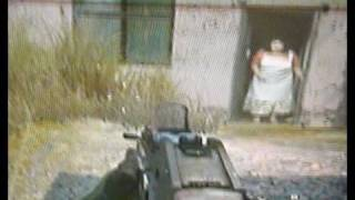 Modern Warfare 2 secret old lady WTF!!!