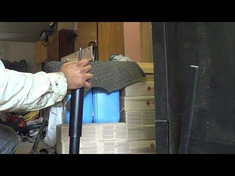 Замена задних амортизаторов и их прокачка / Shock Absorber