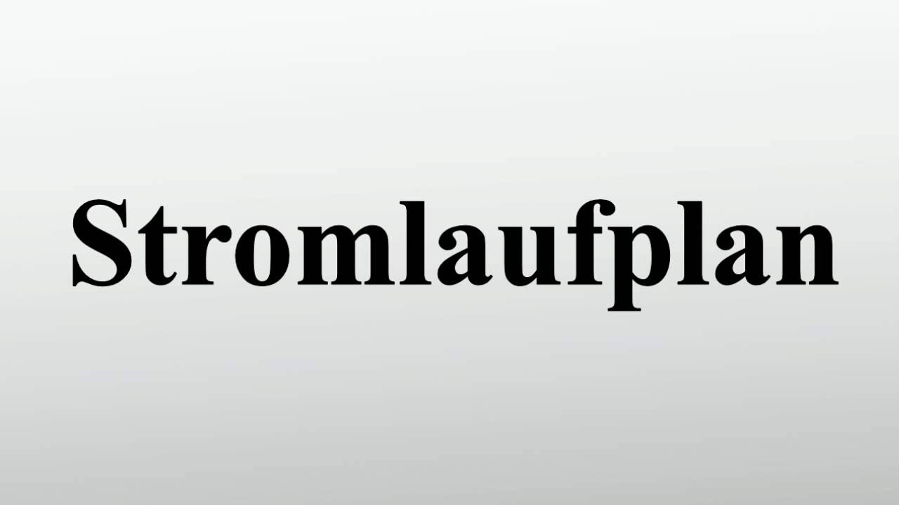 Stromlaufplan - YouTube