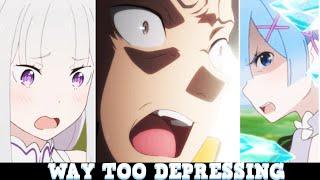 This is TOO TRAGIC & DEPRESSING For Me... Re:Zero Season 2 Episodes 1 & 2