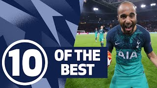 10 OF THE BEST | INCREDIBLE INJURY TIME WINNERS! Ft. Lucas Moura, Heung-min Son and Harry Winks!
