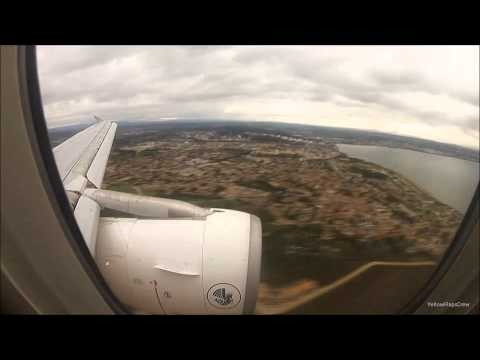 Timelapse Landing into Marseille Provence | Air France Airbus A319