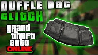 gta 5 duffle bag glitch after patch 1 36 working