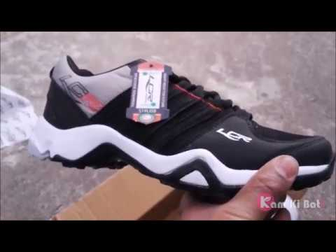 2495c7f0623 Lancer Men s Black   Red Lace-up Running Shoes Review - YouTube