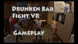 Drunken Bar Fight VR Gameplay (Rock Edition)