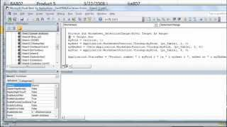 Excel VBA Basics #21 Put VLOOKUP info in StatusBar using Application.Statusbar