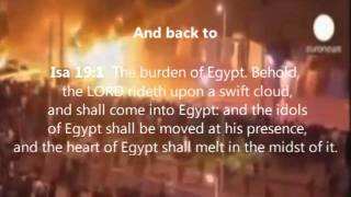 Prophecy of Egypt Being fulfilled Now 2011 Holy Bible Prophecy Egyptian Pale horse on tape!(Ghost?)