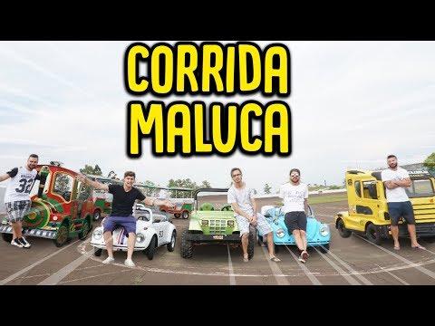 FIZEMOS A CORRIDA MALUCA DE MINI CARROS !! ( IMPRESSIONANTE ) [ REZENDE EVIL ]