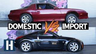 Download Build & Battle 3: Gymkhana GRID! Chevy Camaro vs Nissan 350z Faceoff EP.1 Mp3 and Videos
