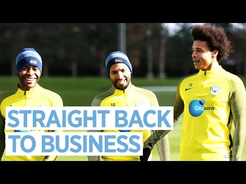 THE HARD WORK NEVER STOPS! | Man City Training