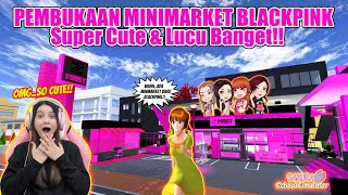 WAAHH..ADA MINIMARKET BLACKPINK BARU BUKA!! OTW BELANJA!! SAKURA SCHOOL SIMULATOR INDONESIA-PART 283 screenshot 1