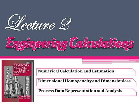 Lecture 2 : Introduction To Engineering Calculation #madar_team