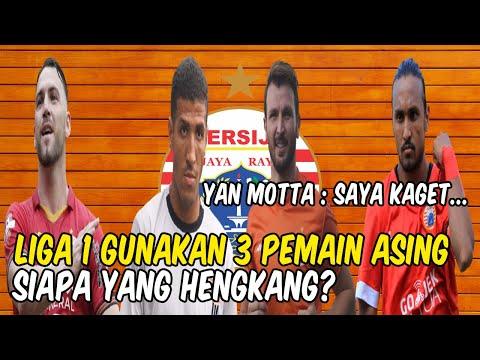 Liga 1 Gunakan 3 Pemain Asing! Siapa yang Hengkang? Yan Motta: Saya Kaget Sepak Bola di sini...