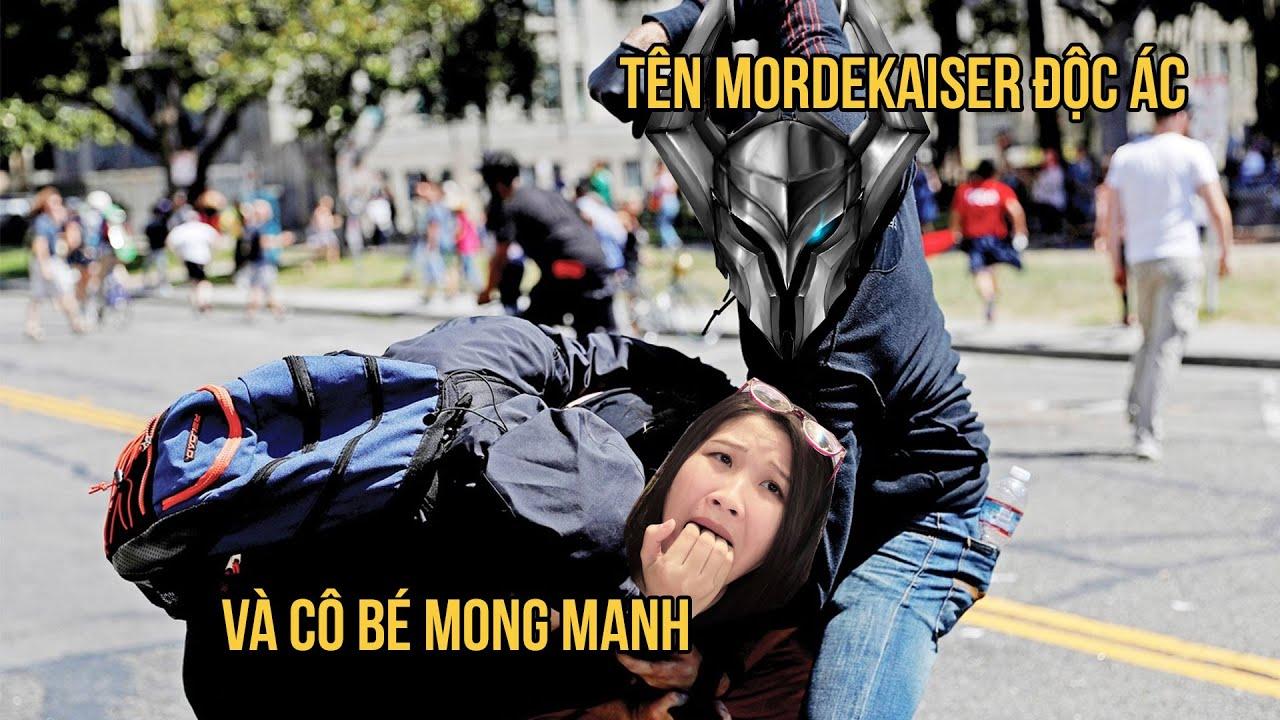 [LMHT] Tên Mordekaiser độc ác và cô bé Aki mong manh
