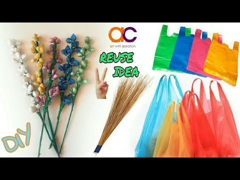 DIy old plastic bag reuse ideas | Best out of waste | Art With Creation