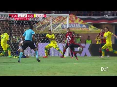 Cúcuta 3-2 Bucaramanga: Gol Carlos Mosquera I Deportes RCN