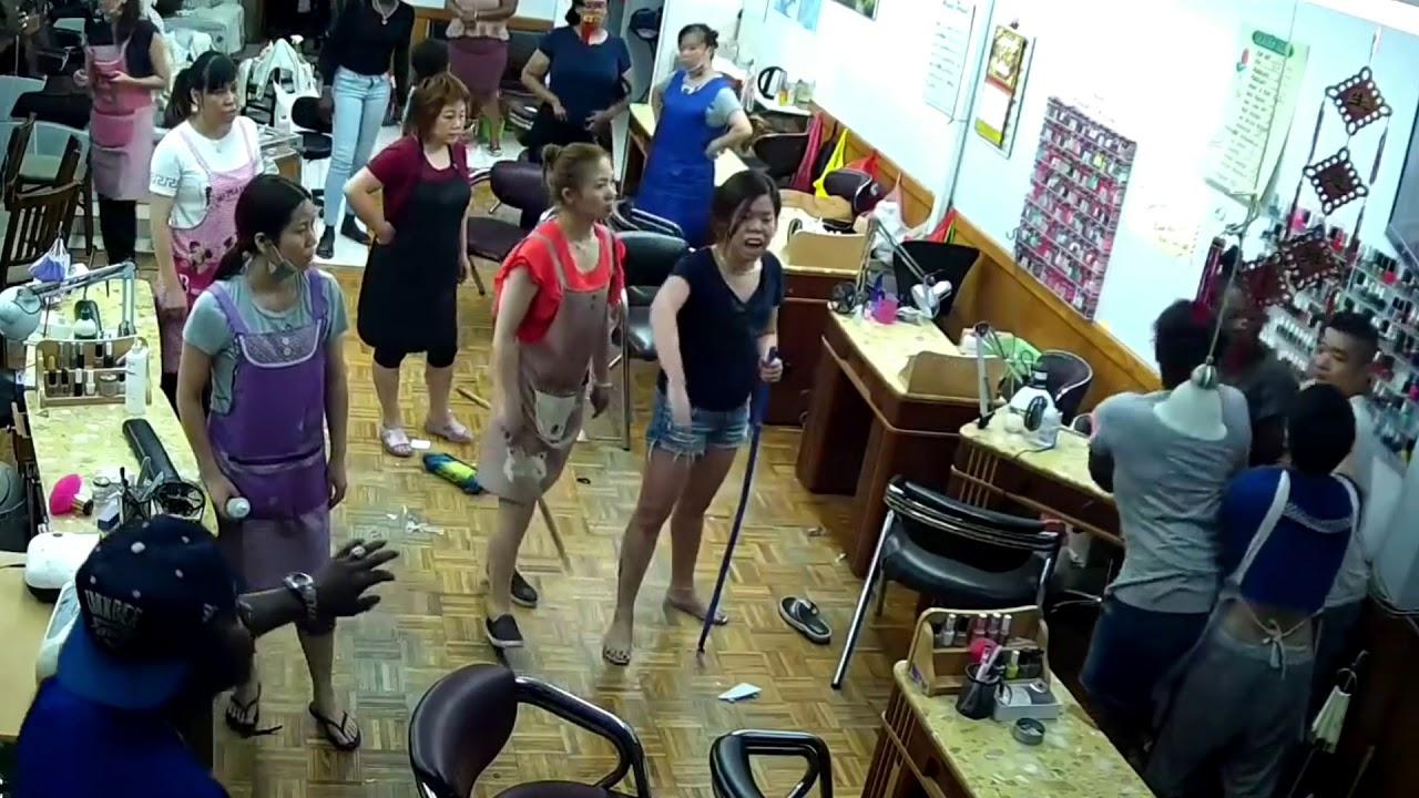 Brooklyn Nail salon Fight Full Video