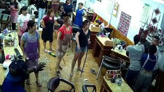 vuclip Brooklyn Nail salon Fight Full Video