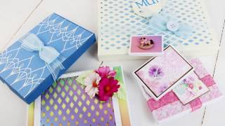 How to use Box Dies by Tattered Lace