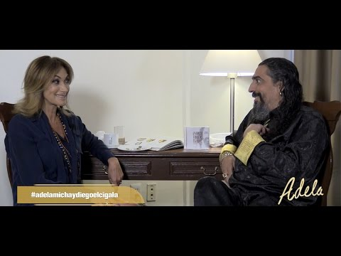 Adela Micha entrevista a Diego El Cigala