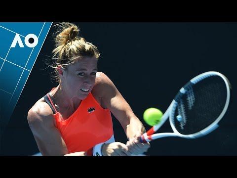 Parmentier v Doi match highlights (1R) | Australian Open 2017