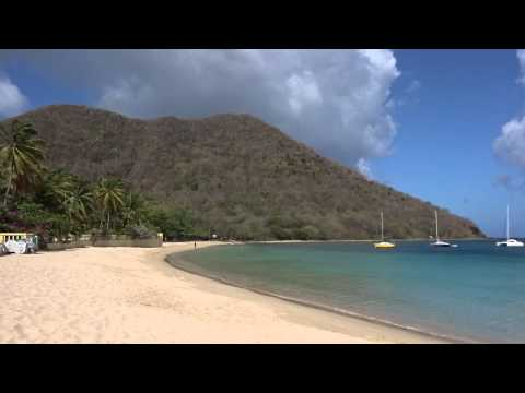 Rodney Bay beach, St. Lucia