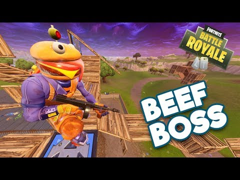 FORTNITE STEADY STORM BEEF BOSS MASTER BUILDER WITH 12 KILLS!!!
