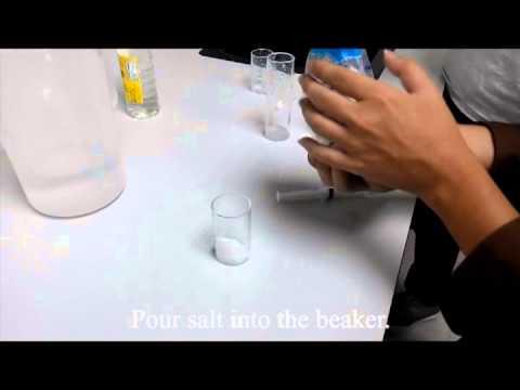 vinegar battery procedure