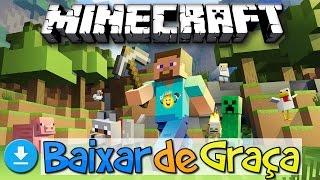 ⭐️Como Baixar Instalar Minecraft PC de Graça/Colocar Sua Skin📥