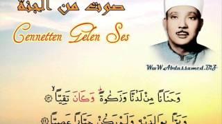 Cennetten Gelen Ses Abdulbasit M.abdussamed