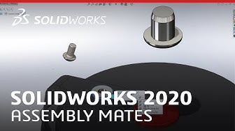 What's New in SOLIDWORKS 2020 - Assembly Mates