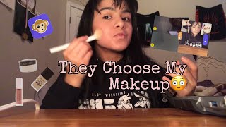 Strangers Choose My Makeup (Monkey)
