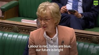 Leadsom reads out #Brexit Valentine's Day poem and it's as CRINGE as you could imagine!