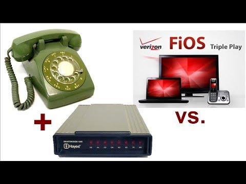 Using a rotary phone & dial-up modem with Verizon FiOS
