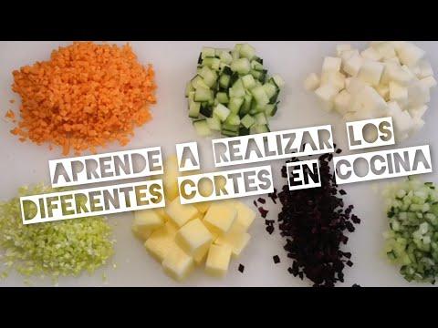 Tipo de cortes de verduras juliana mirepoix brunoise for Cortes de verduras gastronomia pdf