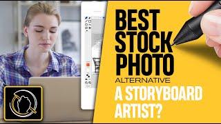 Best Stock Photo Website Alternative: A Storyboard Artist? [2020]