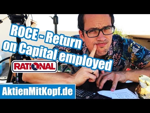 Aktienbewertung mit ROCE - Return on Capital Employed - Beispielrechnung Rational AG