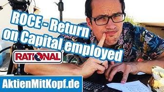 Aktienbewertung mit ROCE - Return on Capital Employed - Beispielrechnung Rational AG