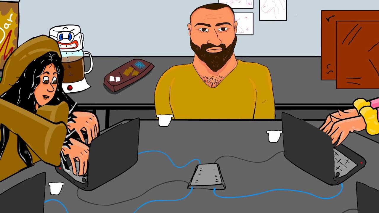 Chiste interno de la oficina youtube for Chistes de oficina