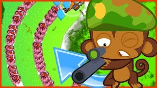 WHY DID HE BOOST THEN!? - Bloons TD Battles - THIS GAME MODE IS SO FAST!