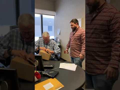Joe Gallagher - Joe Receives A Surprise Gift From Santa
