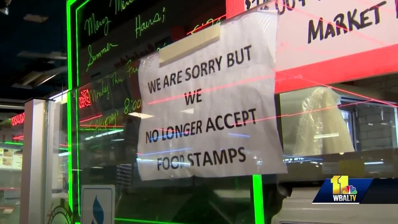 Lexington Market vendors say business is down since new food stamp rules took effect