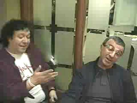 Sal Sirchia with good friend Frank Sivero