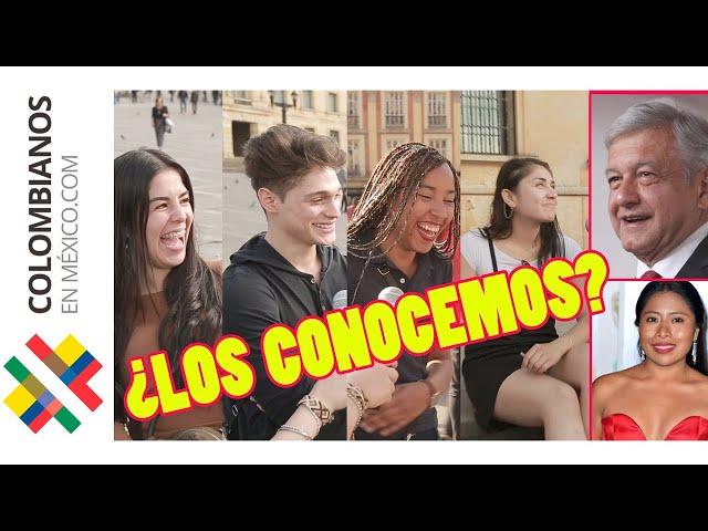 Famosos MEXICANOS en Colombia | Parte 1