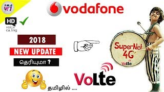 | vodafone | volte support | in | tamil |